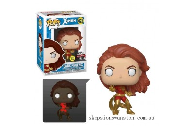 Marvel Dark Phoenix (GITD) EXC Funko Pop! Vinyl Clearance Sale