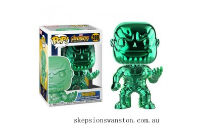 Marvel Thanos Green Chrome EXC Funko Pop! Vinyl Clearance Sale