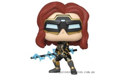 Marvel Avengers Game Black Widow (Stark Tech Suit) Funko Pop! Vinyl Clearance Sale
