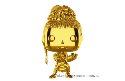 Marvel MS10 Shuri Gold Chrome NYCC 2018 EXC Funko Pop! Vinyl Clearance Sale