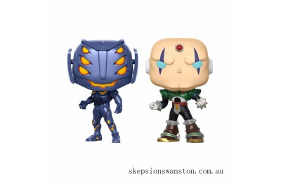 Marvel Vs Capcom Ultron Vs Sigma Pop! Vinyl Figure 2 Pack Clearance Sale