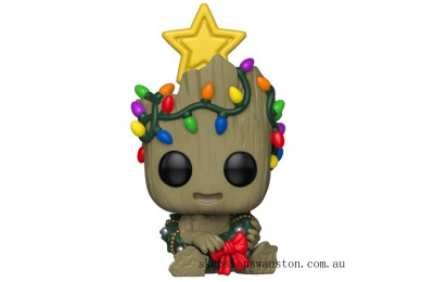 Marvel Holiday Groot Funko Pop! Vinyl Clearance Sale
