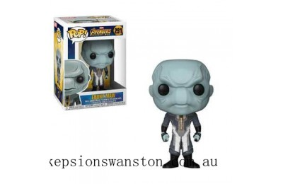 Marvel Avengers Infinity War Ebony Maw Funko Pop! Vinyl Clearance Sale