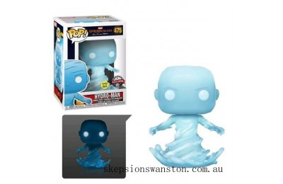 Marvel Spider-Man Far From Home Hydro Man GITD EXC Funko Pop! Vinyl Clearance Sale
