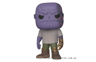 Marvel Avengers: Endgame Thanos with Infinity Gauntlet Funko Pop! Vinyl Clearance Sale