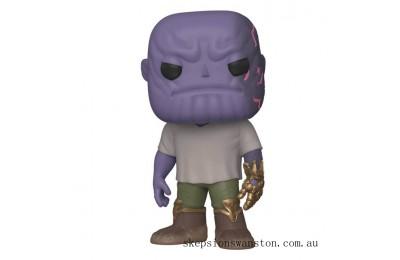 Marvel Avengers: Endgame Thanos with Infinity Gauntlet Funko Pop! Vinyl Clearance Sale