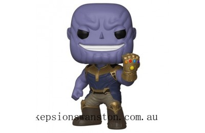 Marvel Avengers Infinity War EXC 10 Inch Thanos Funko Pop! Vinyl Clearance Sale