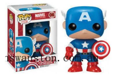 Marvel Captain America Funko Pop! Vinyl Clearance Sale