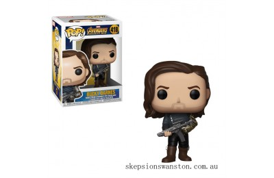 Marvel Infinity War Bucky with Weapon Funko Pop! Vinyl Clearance Sale
