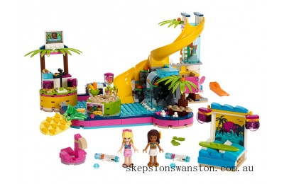 Outlet Sale Lego Andrea's Pool Party