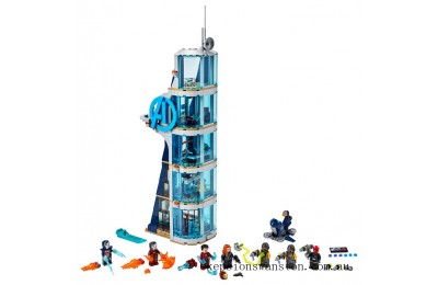 Clearance Lego Avengers Tower Battle