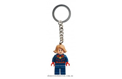 Clearance Lego Captain Marvel Key Chain