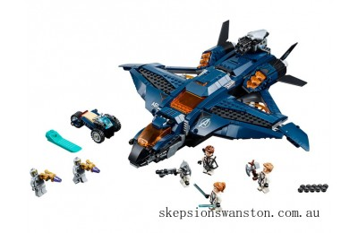 Outlet Sale Lego Avengers Ultimate Quinjet