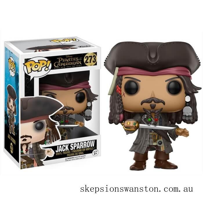 Pirates of the Caribbean Jack Sparrow Funko Pop! Vinyl Clearance Sale