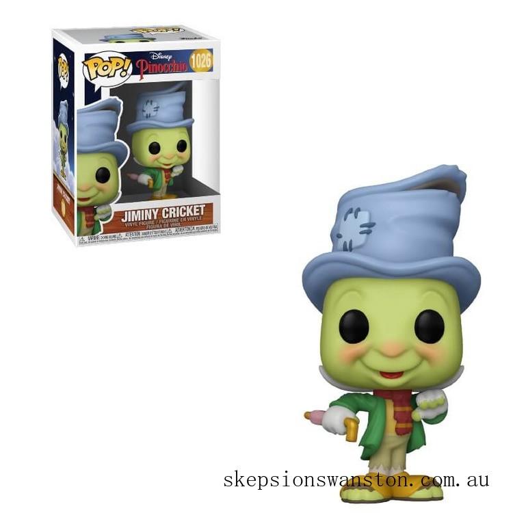 Disney Pinocchio Street Jiminy Pop! Vinyl Figure Clearance Sale
