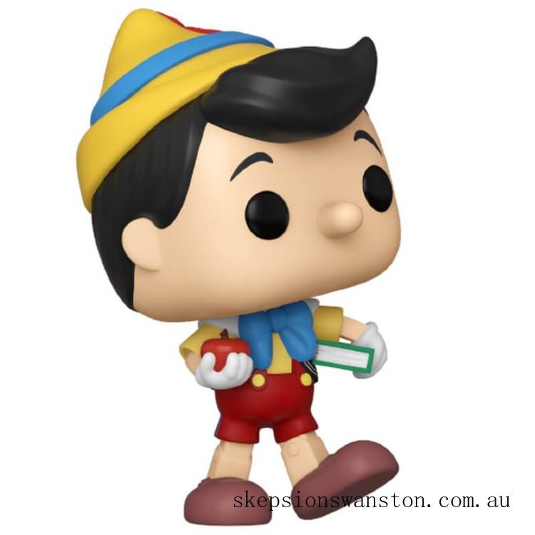 Disney Pinocchio School Bound Pinocchio Pop! Vinyl Figure Clearance Sale