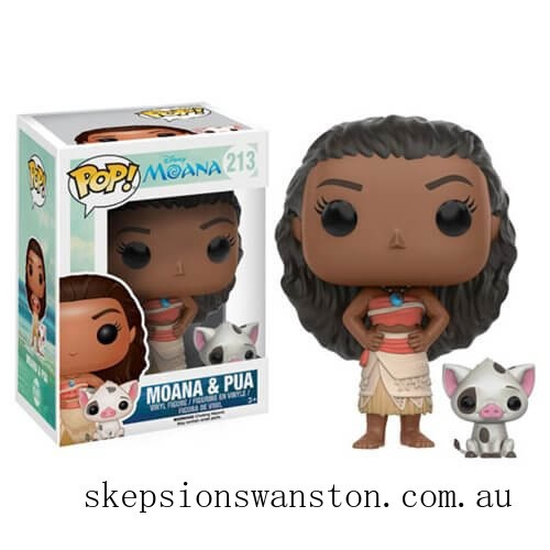 Moana and Pua Funko Pop! Vinyls Clearance Sale