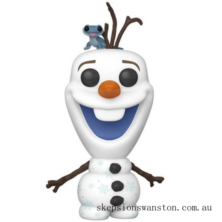 Disney Frozen 2 Olaf with Fire Salamander Funko Pop! Vinyl Clearance Sale