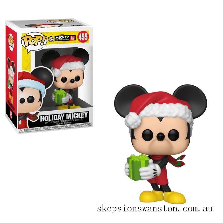 Disney Mickey's 90th Holiday Mickey Funko Pop! Vinyl Clearance Sale