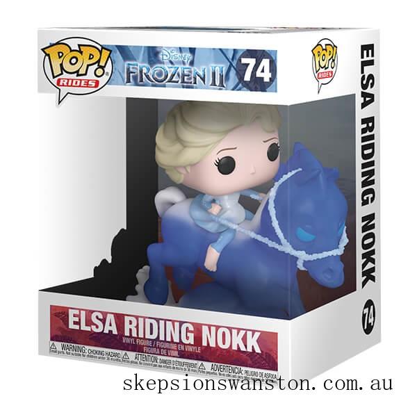 Disney Frozen 2 Elsa on Nokk Funko Pop! Ride Clearance Sale