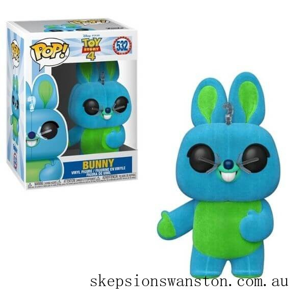Toy Story 4 Bunny Flocked EXC Funko Pop! Vinyl Clearance Sale