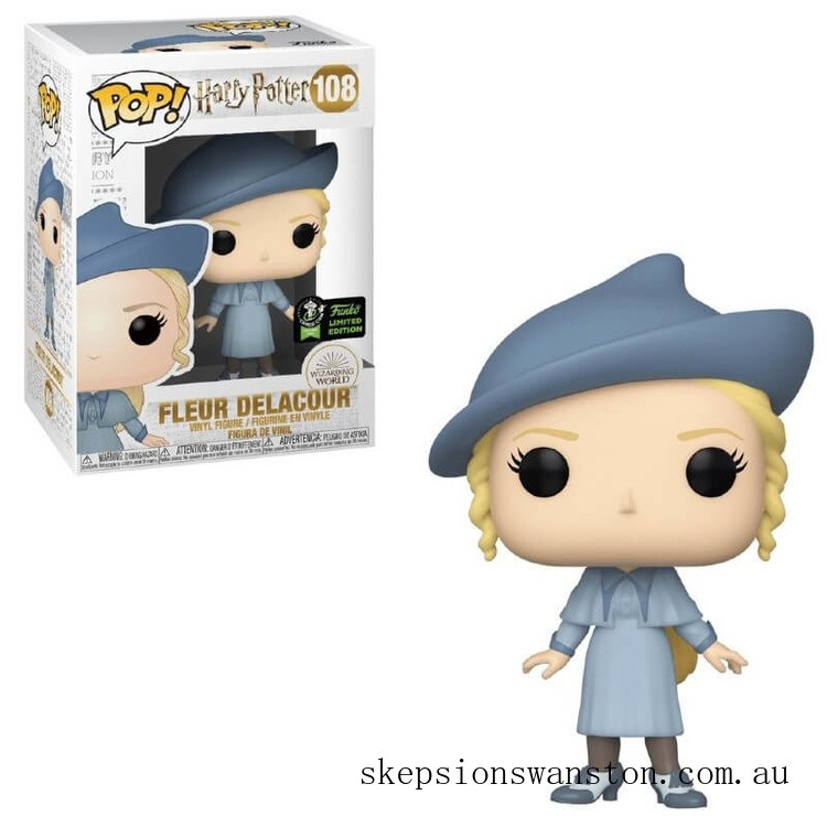 Harry Potter Fleur Delacour ECCC 2020 EXC Funko Pop! Vinyl Clearance Sale