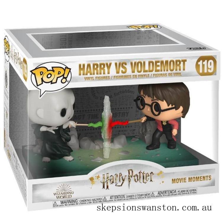 Harry Potter Harry VS Voldemort Funko Pop! Movie Moment Clearance Sale