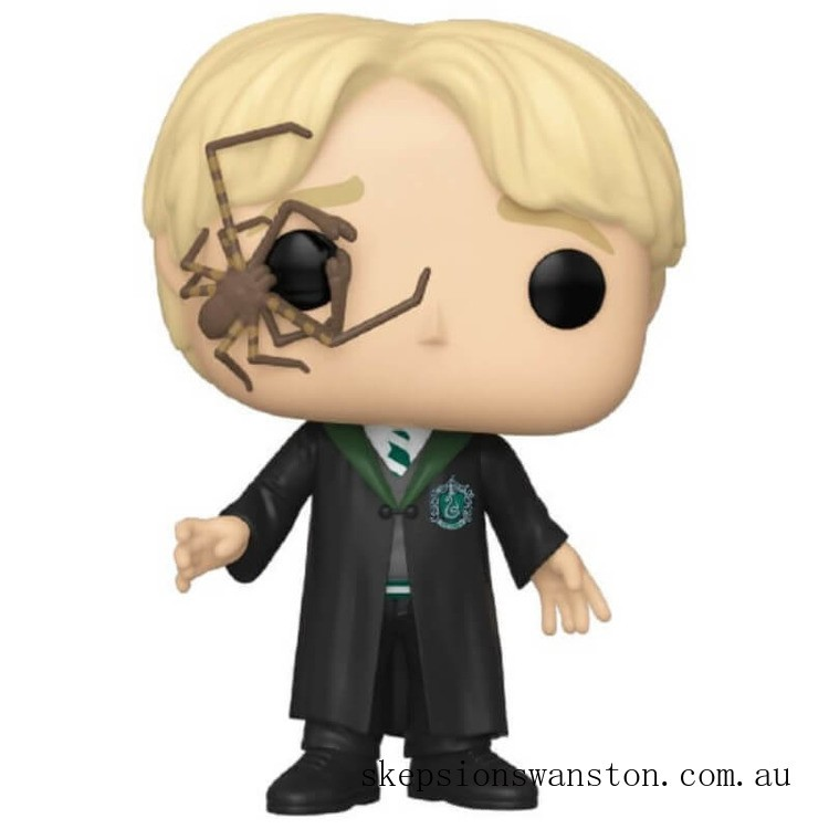 Harry Potter Draco Malfoy with Whip Spider Funko Pop! Vinyl Clearance Sale