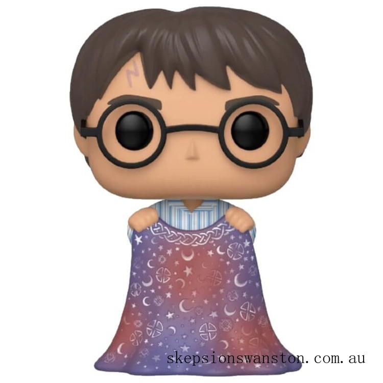 Harry Potter with Invisibility Cloak Funko Pop! Vinyl Clearance Sale