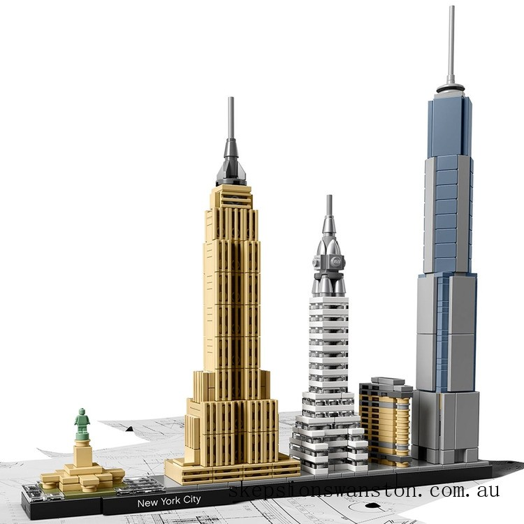 Clearance Lego Architecture New York City
