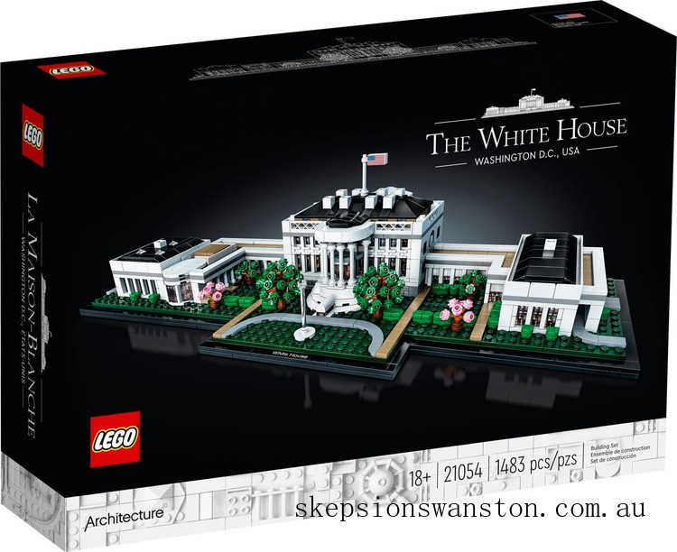 Genuine Lego Architecture The White House