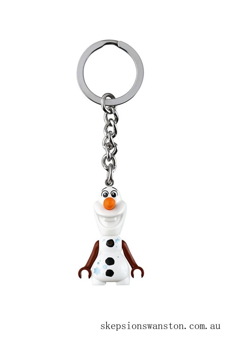 Hot Sale Lego® ǀ Disney Frozen 2 Olaf Key Chain