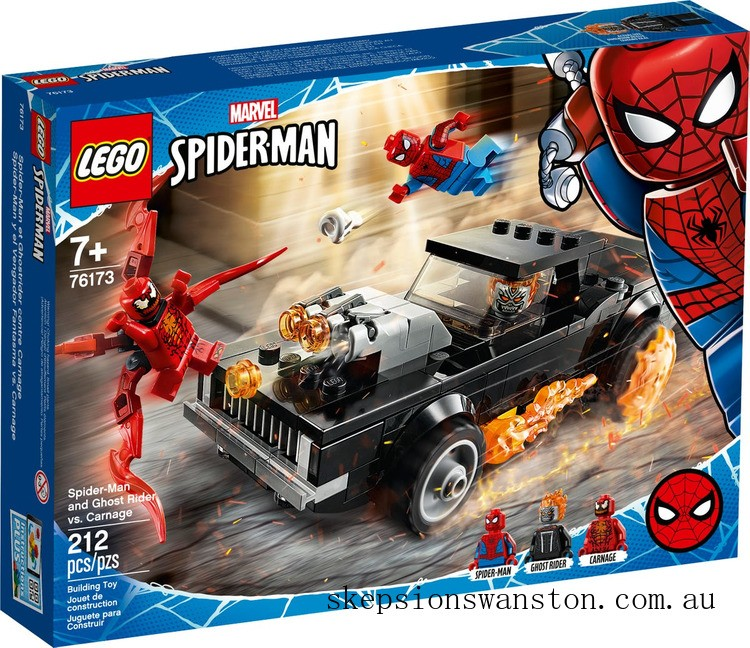 Hot Sale Lego Spider-Man and Ghost Rider vs. Carnage