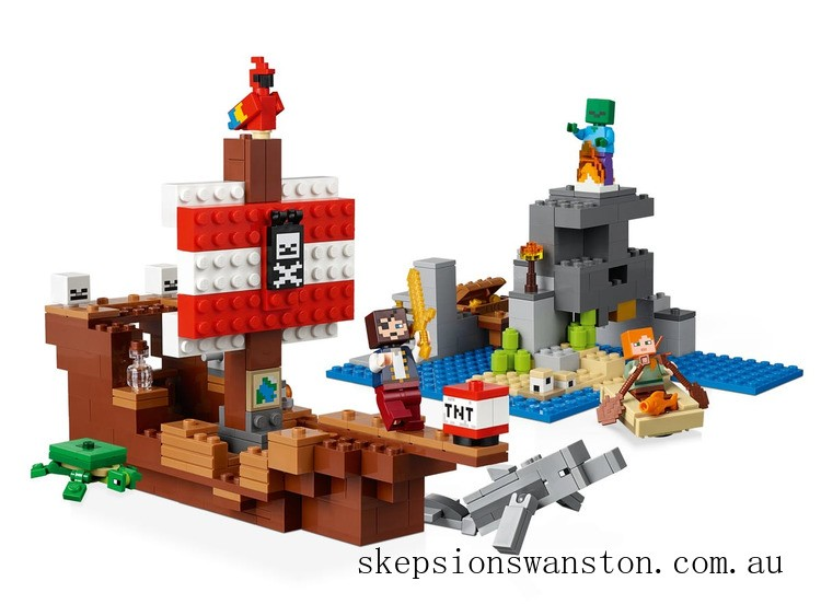 Discounted Lego The Pirate Ship Adventure