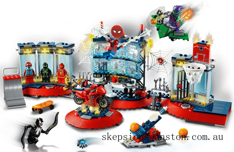 Outlet Sale Lego Attack on the Spider Lair