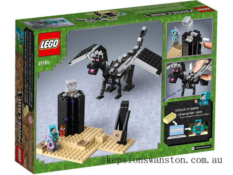 Discounted Lego The End Battle