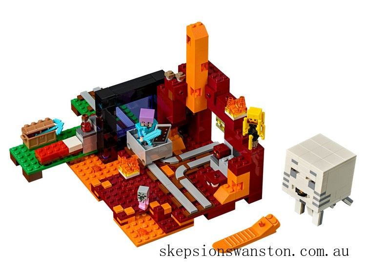 Hot Sale Lego The Nether Portal