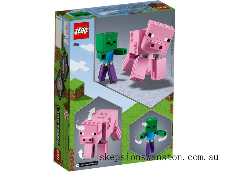 Hot Sale Lego BigFig Pig with Baby Zombie