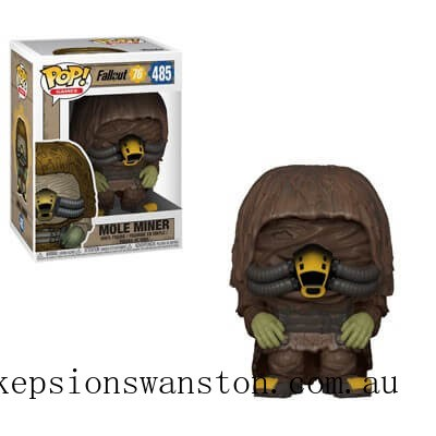 Fallout 76 - Mole Miner Games Funko Pop! Vinyl Clearance Sale