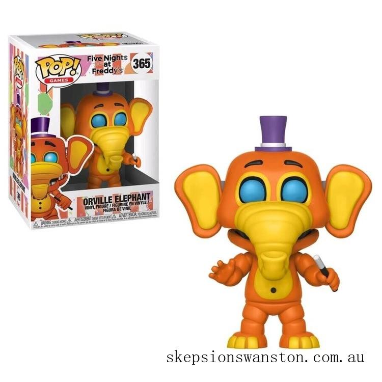 Five Nights at Freddy's Orville Elephant Funko Pop! Vinyl Clearance Sale