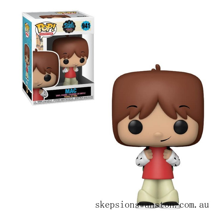 Foster's Home For Imaginary Friends Mac Funko Pop! Vinyl Clearance Sale