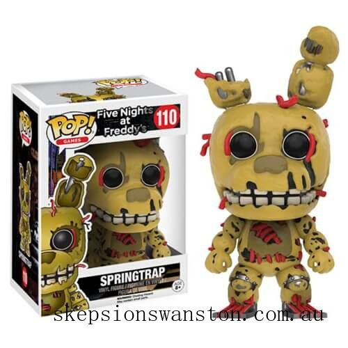 Five Nights at Freddy's Spring Trap Funko Pop! Vinyl Clearance Sale