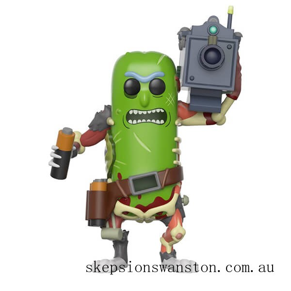 Rick & Morty Pickle Rick with laser Funko Pop! Vinyl Clearance Sale