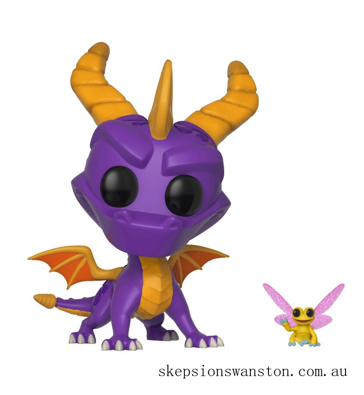 Spyro the Dragon with Sparx Funko Pop! Vinyl Clearance Sale