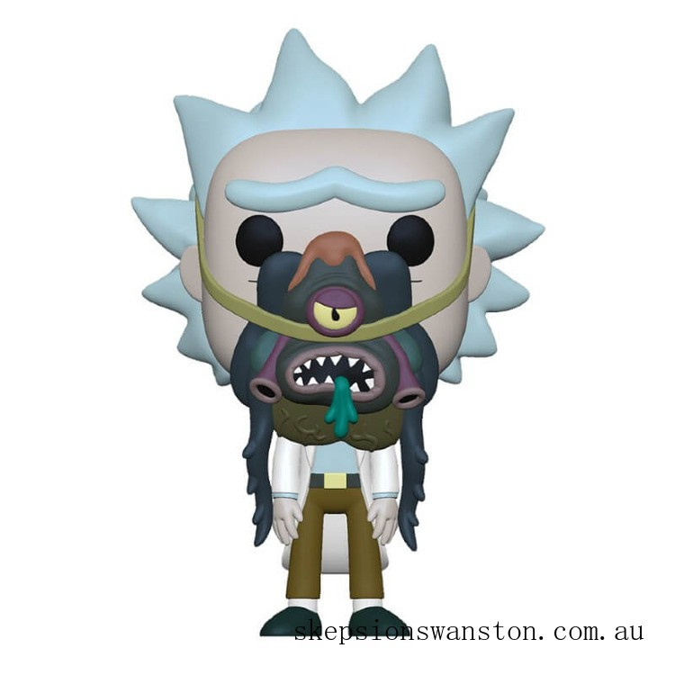 Rick and Morty Rick with Glorzo Pop! Vinyl Figure Clearance Sale