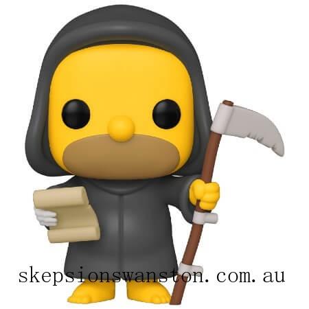 Simpsons Reaper Homer Funko Pop! Vinyl Clearance Sale