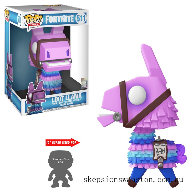 Fortnite Loot Llama 10inch Funko Pop! Vinyl Clearance Sale