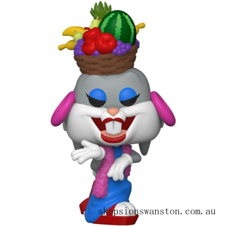 Bugs Bunny 80th Anniversary: Bugs In Fruit Hat Funko Pop! Vinyl Clearance Sale