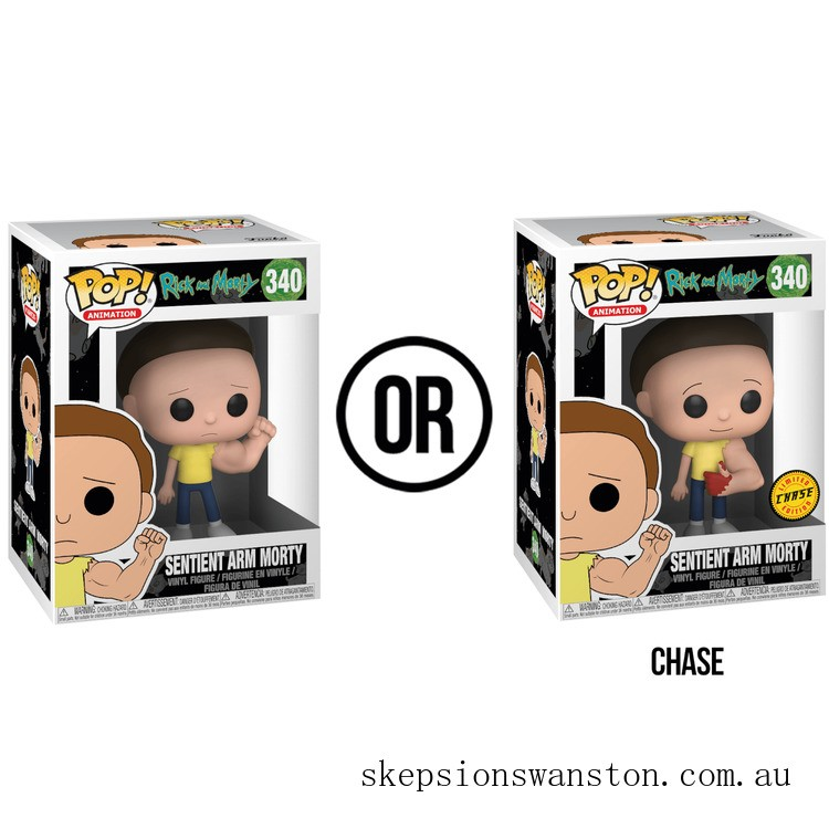 Rick and Morty Sentient Arm Morty Funko Pop! Vinyl Clearance Sale