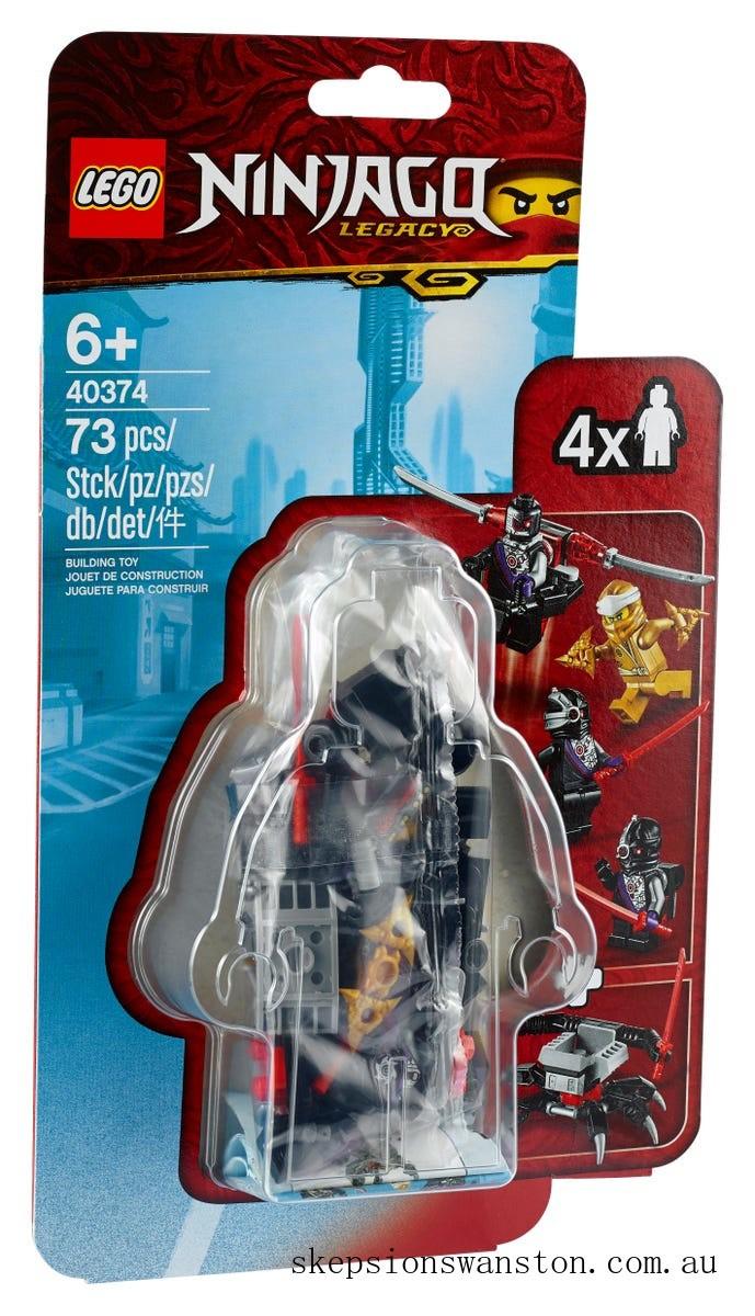 Discounted Lego Golden Zane MF Acc. Set